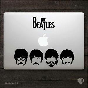 Logo Band Sticker. Decal Car Van The Beatles Door Truck Fab Four Wall