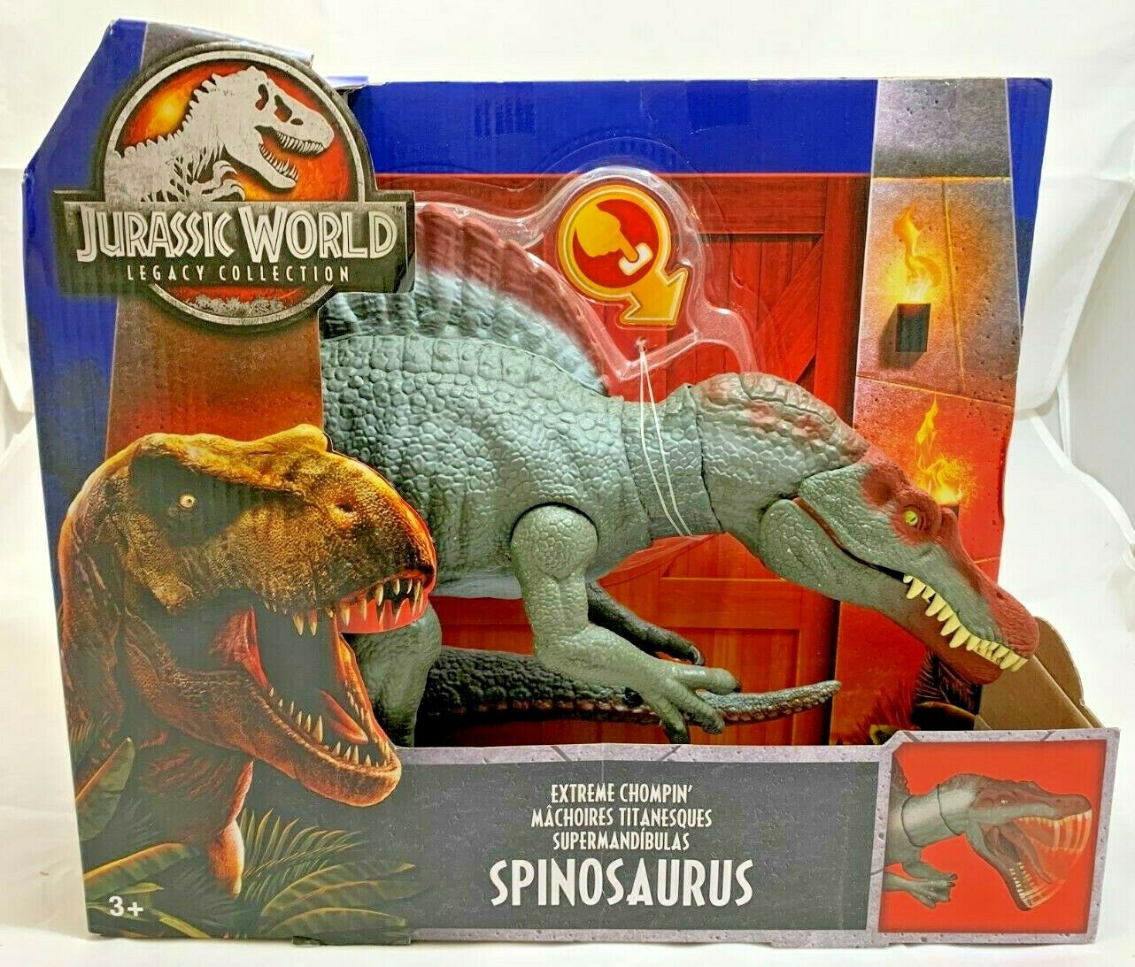 HTF MATTEL JURASSIC WORLD Legacy Collection Extreme Chompin SPINOSAURUS Dinosaur