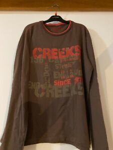 tee shirt Creeks Taille L