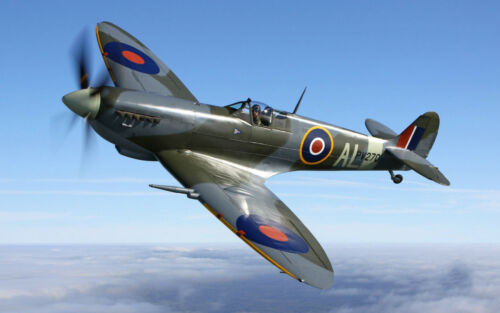 AIRFORCE//WAR//FIGHTER A3 SPITFIRE1 PLANE POSTER ART PRINT BUY2GET1FREE!