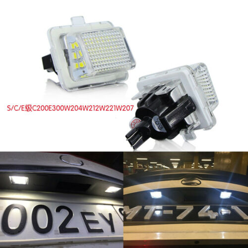 For Mercedes Benz W204//W212//W216//W207 LED Number License Plate Light Lamp DNN