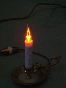 Ampoule-bougie-flamme-vascillante-coup-de-vent-Flicker-GIRARD-SUDRON-NEUVE
