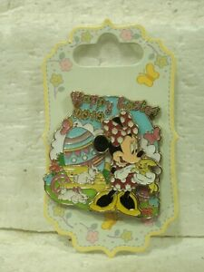 Pin-75865-Happy-Easter-2010-Series-Minnie-Mouse-LN