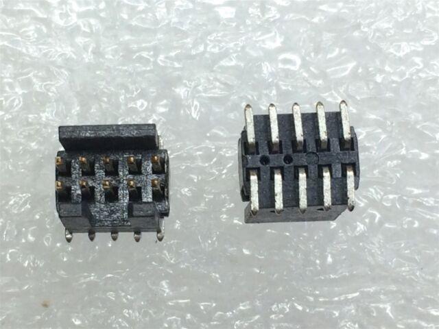 HEADER 2ROW 10 pieces 50WAY SAMTEC FTS-125-01-L-DV BOARD-BOARD CONNECTOR