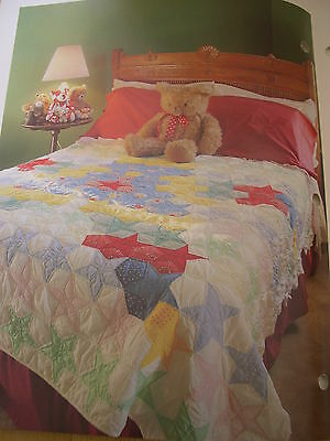 Spinning Spools quilt pattern /& templates Five-Pointed Star ~ Quilt /& Block
