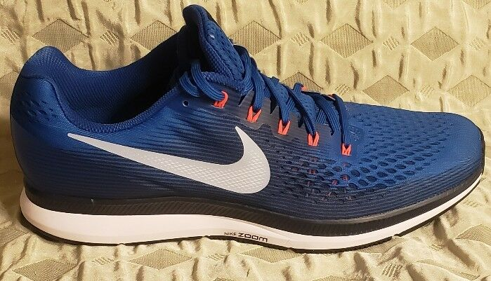Nike Air Zoom Pegasus 34 Blue Jay / Armory Blue Size 15 880555 402