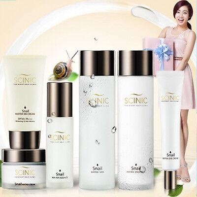 [SCINIC] Snail Matrix Skin Full 6Set (Toner, Emulsion, Essence, Eyees Cream, BB)