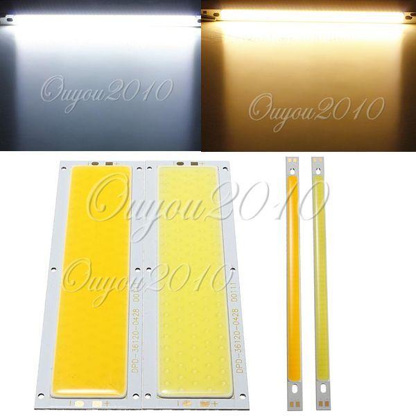 Rectangle 10W COB LED Lamp Light Bulb 12V-24V 1000LM Pure/Warm White for DIY