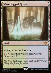 Waterlogged-Grove-FOIL-NM-M-Modern-Horizons-Magic-MTG