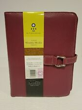 New Listing Franklin Covey Classic Organizer Planner Undated Pages Purple Faux Leather Nwot