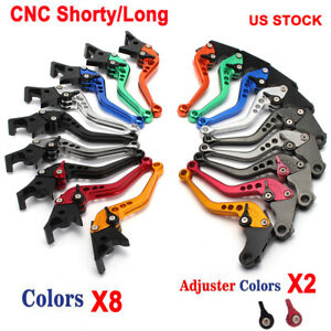 CNC Long Brake Clutch Lever for Honda CBR600F2 CBR600F3 CBR600F4 CBR600F4i 91-07