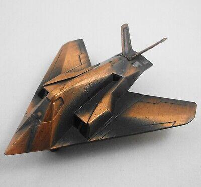 Miniature USAF Nighthawk Stealth Fighter Antiqued Die Cast Pencil Sharpener