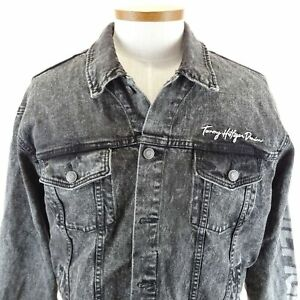 TOMMY HILFIGER Men/'s Denim Trucker Jean Jacket  NWT