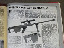 GUNS & AMMO TEST BARRETT 50CAL, CASULL 22 , BERETTA 92