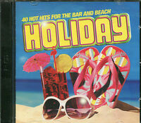 HOLIDAY - 2 CD BOX SET - 40 HOT HITS FOR THE BAR AND BEACH - SIMPLY RED & MORE