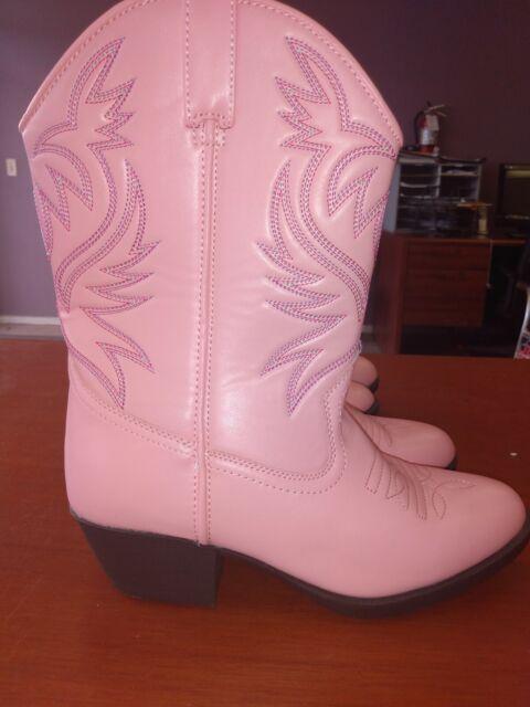 Austin Trading Co. Girls Pink Cowboy