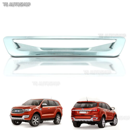 Chrome Rear Door Bowl Tailgate Handle Cover For Ford Everest Suv 3.2L 2015 2016