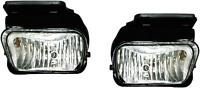 Chevy Silverado Fog Lights Lamps 2004-2006 L/r Pair 2007 Classic W/bracket
