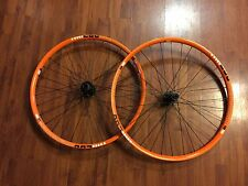"Diamondback AM280 27.5"" MTB Wheelset - F 20mm R 12X142 - Orange 32H Tubeless C"