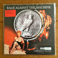 """Rage Against The Machine - Sleep Now In The Fire 7"""" Red Vinyl"""