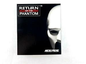 Vintage-RETURN-OF-THE-PHANTOM-Big-Box-PC-Computer-Game-by-Micro-Prose-3-5-Disk