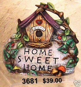 Ceramic-Bisque-Home-Sweet-Home-Rock-Bird-House-CPI-3681-U-Paint-Ready-To-Paint