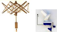 Stanwood Needlecraft: Medium Umbrella Yarn Swift / Ball Winder Ybw-a Combo 1
