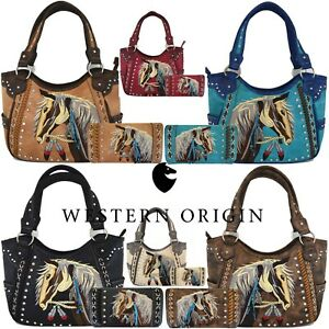 Handbags Concealed Carry Purse Women
