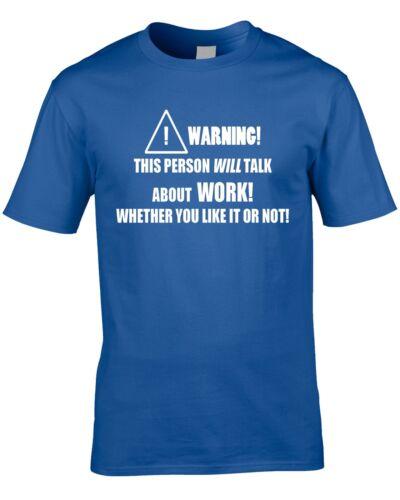 Travail T-shirt homme finance Business travail Drôle Humour Travailleur Boss Manager Cadeau