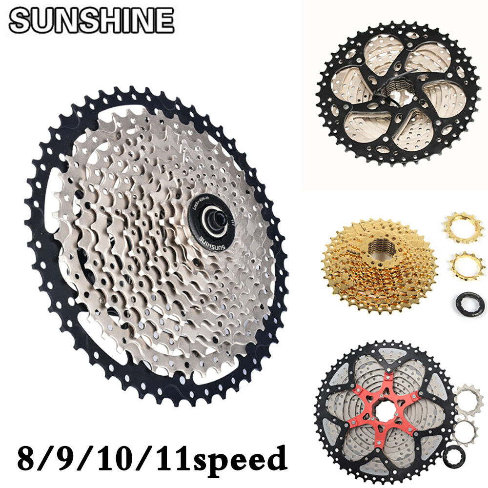 SUNSHINE 8 9 10 11 Speed MTB Bike Cassette Cycling Flywheel fits Shimano SRAM