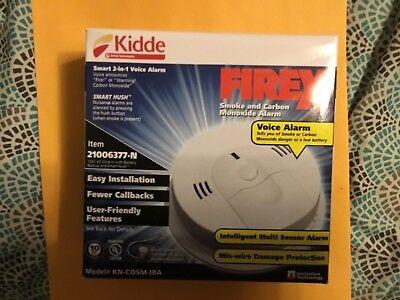 KIDDE KN-COSM-IBA  SMOKE /& CARBON MONOXIDE ALARM 120V AC /& BATTERY BACKUP PREMIU