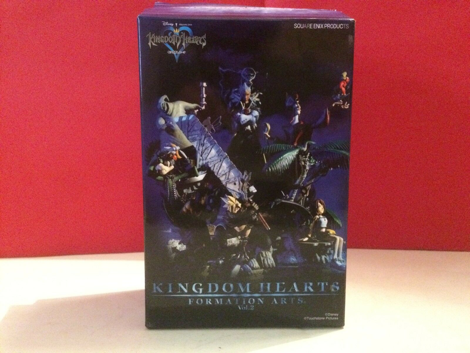 SQUAREENIX SUPERBE FIGURINE KINGDOM HEARTS FORMATION ARTS VOL 2 CLOUD STRIFE