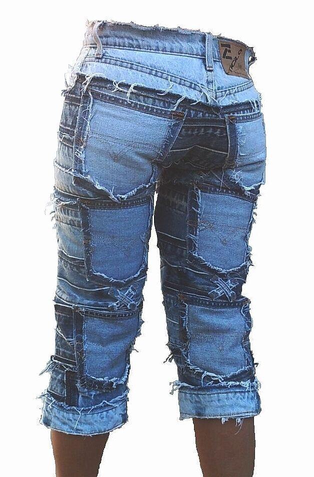 Beach Club Sexy Shorts 3 4 Jeans SEVEN STAR CAPRI W 31 Vintage Special Edition