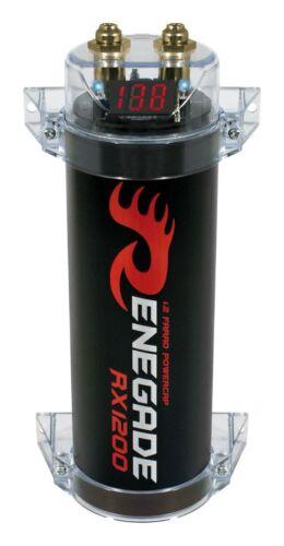 Renegade rx1200 1,2 Farad powercap condensador Elko 1,2 F con anschlußmaterial