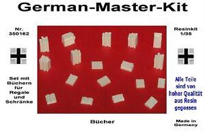 Resin-Set-mit-Buechern-1-35-350162-Diorama-Zubehoer-GMK-World-War-II