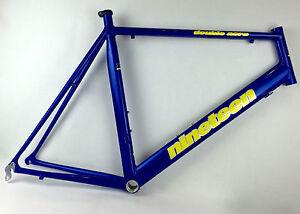 Nineteen-Double-Aero-TT-61-cm-650C-bicycle-frame-and-wheelset-NEW