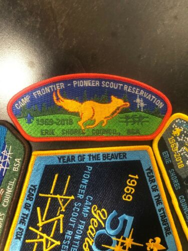 CSP Erie Shores Council Pioneer Scout Reservation 50th Camporee Set