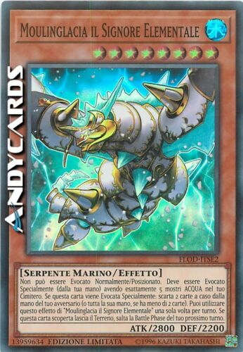 Elemental Lord • Super Rara • FLOD ITSE2 Moulinglacia il Signore Elementale