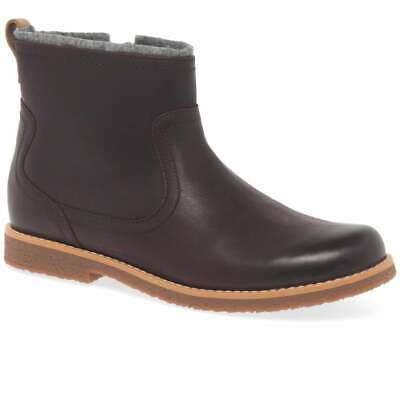 Clarks Girls Leather Ankle Boots /'Comet Frost/'