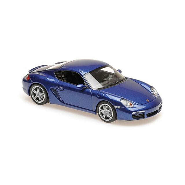 Maxichamps 940065621 Porsche Cayman S BLUE Metallic Scale 1:43 New !°