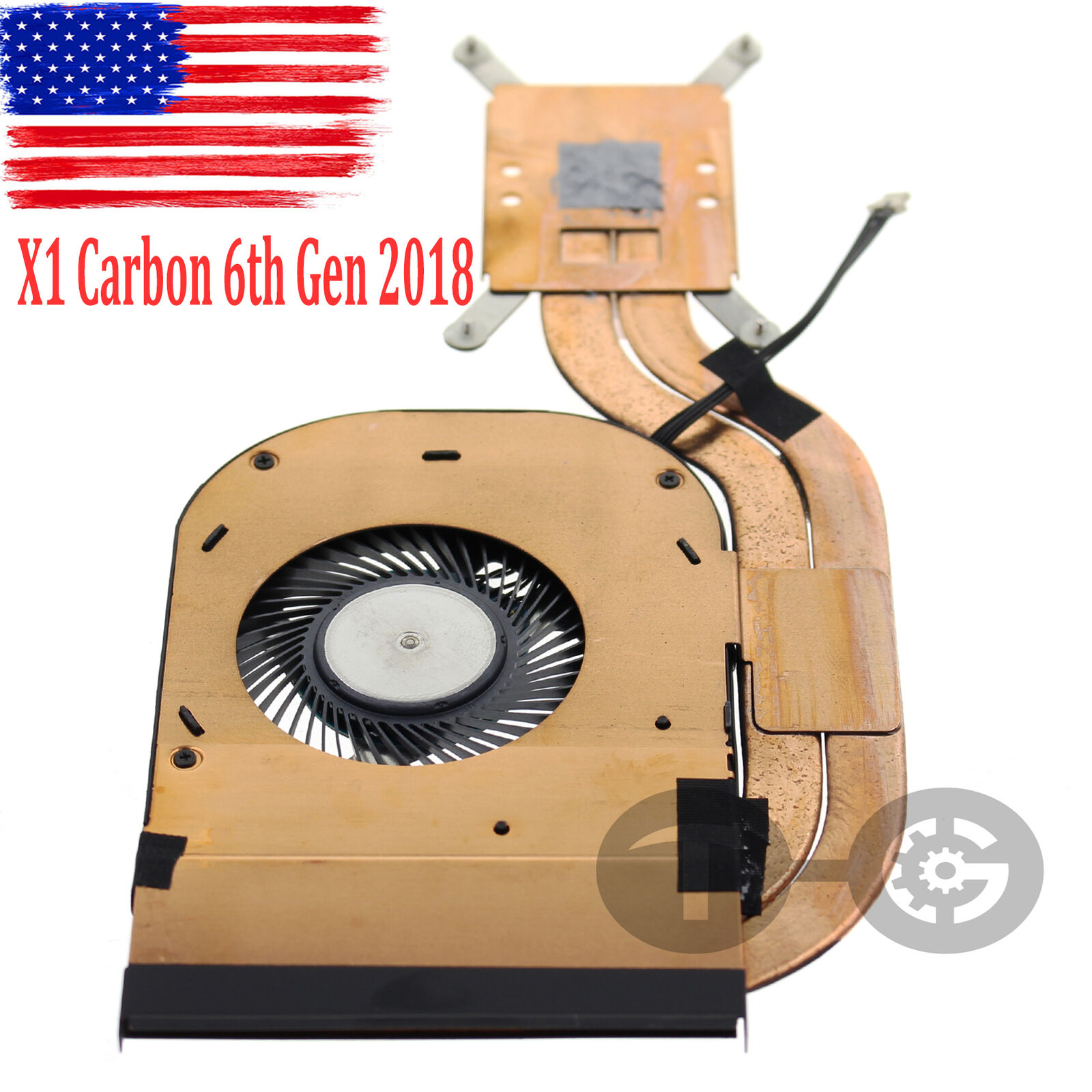 NEW CPU Cooling Fan For Lenovo with Heatsink ThinkPad X1 Carbon 6Th Gen 01YR204