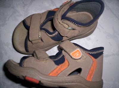 Lauflern-sandalen/lederschuh Braun Gepflegt Gr.22 Pepino