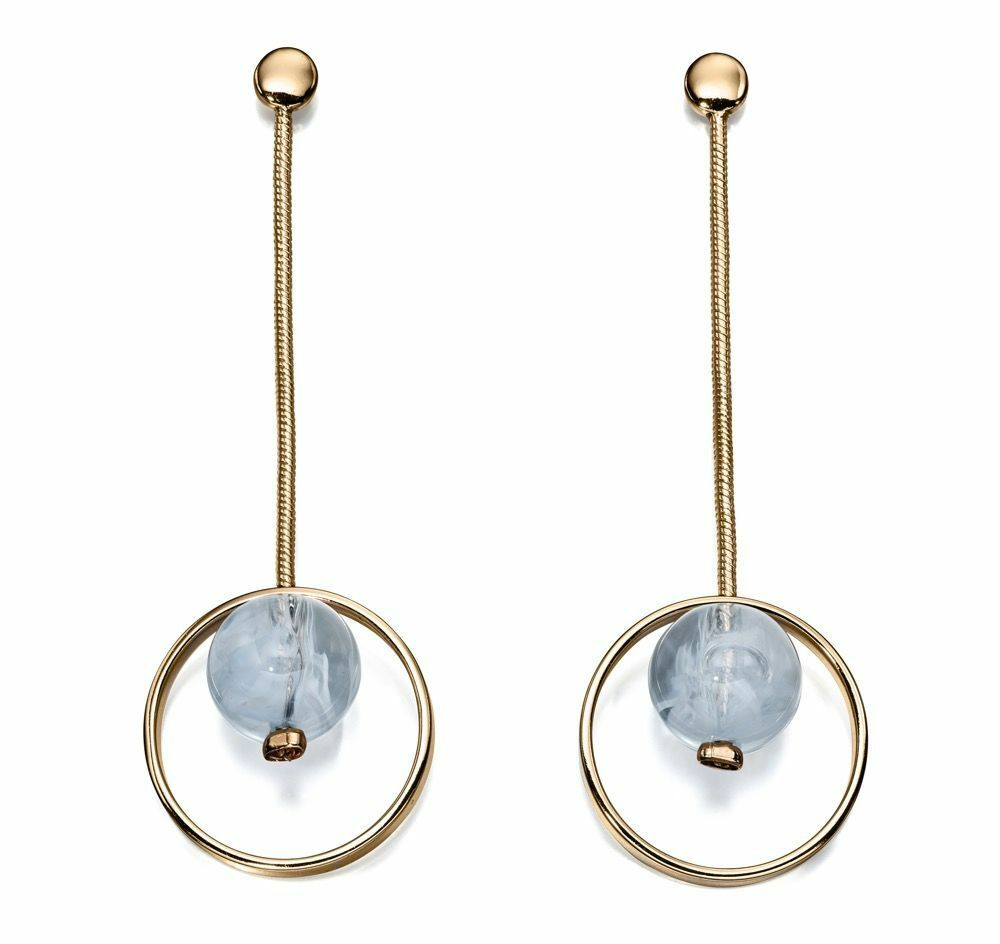 Fashion Earrings Fiorelli Fashion bluee Resin Drop Fashion Earrings E5447
