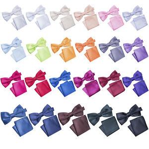 Korntex-Fliege-mit-Einstecktuch-Krawattenset-Business