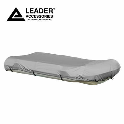 New Heavy Duty Waterproof RIB Inflatable Boat Cover Fit to 12.5/' Beam Width 70/'/'