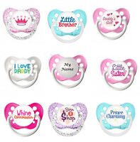 Baby Dummy Pacifier Soother Funny Novelty Cute Baby Shower Gift Personalised