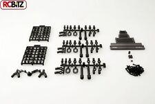 "SCX10 TR Suspension alli Metal Links Set 12.3"" 313mm long wheelbase Honcho Jeep"