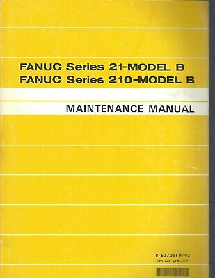 Fanuc 21-model B 210-model B Maintenance Manual