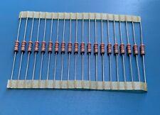 //-5/% 1000 pcs Carbon Film Resistors 1//4W 0.25W 0.25 Watt 2.2K Ohm 2.2Kohm 2K2