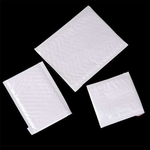 10Pcs Poly Bubble Mailers Padded Envelopes Shipping Packaging Bags Self Seal  R